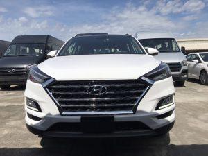 Hyundai Tucson 21 mặt trước
